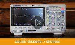 Відеоогляд фосфорного цифрового осцилографа SIGLENT серії SDS1000X+ / SDS1000X