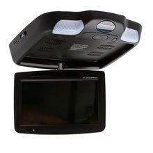 "9"" Car Flip Down Monitor with DVD Player Black  - Short description"