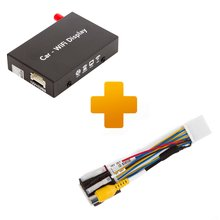 Smartphone iPhone Wi Fi Mirroring Adapter and Connection Cable Kit for Toyota Touch, Scion Bespoke - Short description