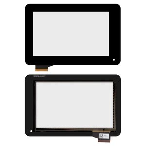 Touchscreen compatible with Acer Iconia Tab B1-710, Iconia Tab B1-711, (black) #T070GFF08 V0