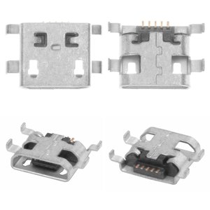 Charge Connector for Cell Phones; Tablets, (5 pin, micro USB type-B, type 15)
