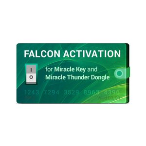Активация Falcon для Miracle Key / Miracle Thunder Dongle