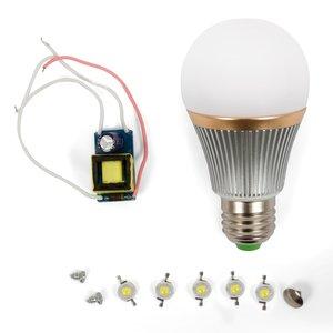 Комплект для збирання світлодіодної лампи SQ-Q22 5 Вт (холодний білий, E27)