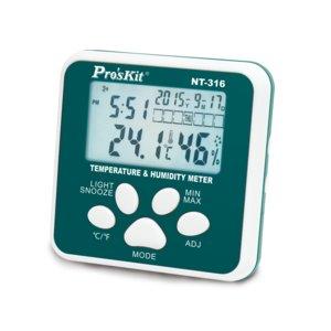 Medidor de temperatura y humedad Pro'sKit NT-316