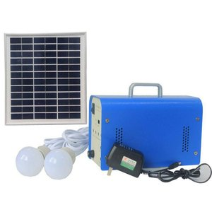 DC Portable Solar Power System, 10 W, 12 V / 7.2 Ah, Poly 18 V / 10 W
